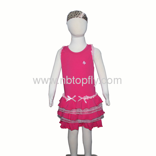 Girl's one piece dresses
