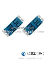 durable engineering plastic LC Fiber Adapter