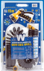 15M PU Water Wash Hose With Plastic Nozzle