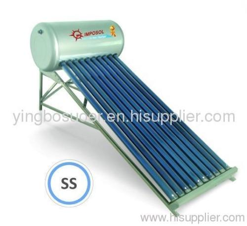 Vacuum Tube Solar Water Heater2