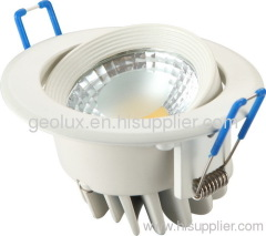 Round turnable COB Downlight