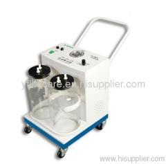 Medical Plastic Mobile Vacuum Suction Machine