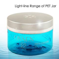 PET plastic cosmetic jar
