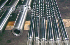 Screw and Barrel for injection molding machine