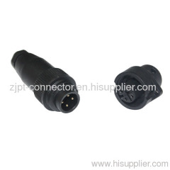 Nylon shell IP67 cable connector