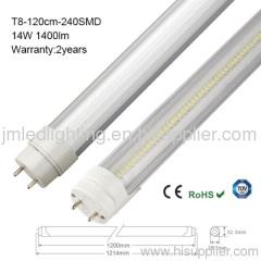 14w led tube t8 lighting 1400lm 120cm