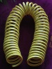 PU Garden Coil Hose With Stripe