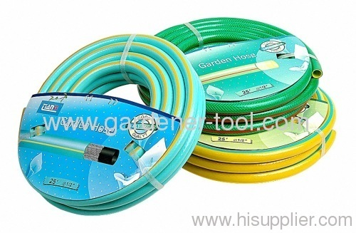 water garden hose with stripe