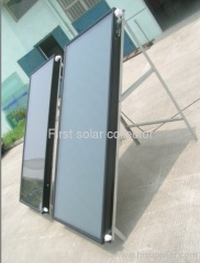 Flat Panel Solar Collector with Blue Titanium Absorber ,laser welding