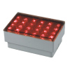 2W LED In-ground Lamp IP67 with 5mm Straw LED