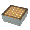 2.2W LED In-ground Lamp IP67 with 5mm Straw LED Square Shape
