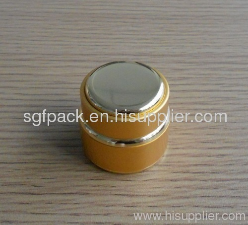 7g Aluminum jar Anodized Personal care cream jar Aluminum container inner plastic jar Aluminum package Hot sale