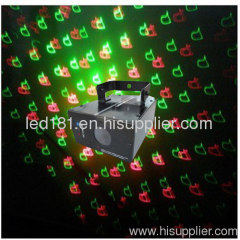 High speed laser with step motor