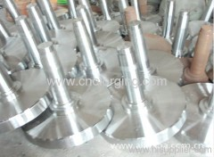 CNC machined gear shaft