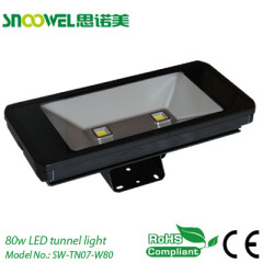 80w led tunnel light