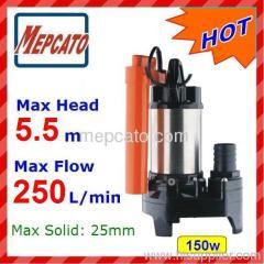 submersible pump fish pump sewage pump