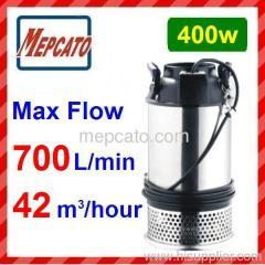 high volume water pump Axial flow submersible pump