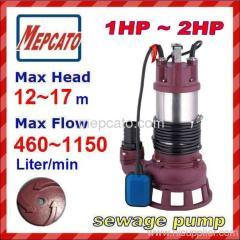 submersible water pump sewage pump drainage pump