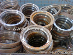 Forged railway train parts