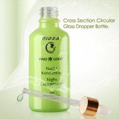 5ml 30ml 50ml 100ml 10ml Green Cosmetic Glass Bottle Dropper