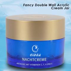 15ml 30ml 50ml 100ml Blue Acrylic Round Shape Jar