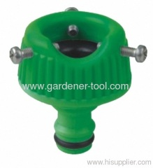 Plastic Tap Coupling With Screw