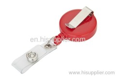 promotion Plastic red clour badge holder