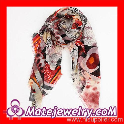 Cashmere Wool Square Scarf Fashion
