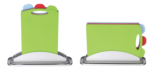 square shape pp cutting board with water pan