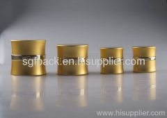 Aluminum package Anodized Aluminum container cream jar