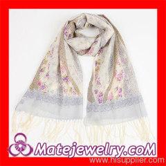 Wool Pashmina Infinity Scarf Women