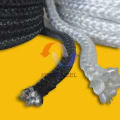 Fibre glass knitted rope