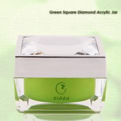 15ml 30ml 50ml Square Cosmetic Jar