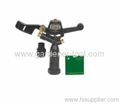 "Plastic Farm Impulse Sprinkler With G3/4"" female thread tapping"