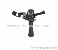 agriculture farm sprinkler with brass nozzle