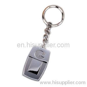 Цинковый сплав Pin брелок для ключей