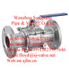 flange ball valve (three piece)