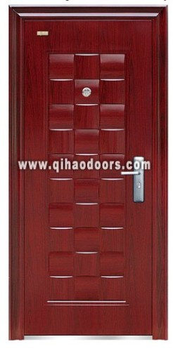 high quality modern fashion steel entry doors from China
