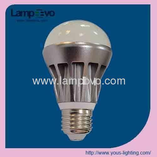 Led bulb lighting 9W 800lm Aluminum