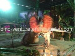 remote Dilophosaurus for Amusement Park