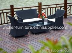 Rattan indoor and outdoor furniture in 4pcs