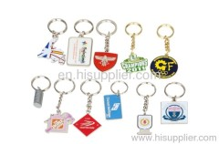 zinc alloy promotion metal keychains