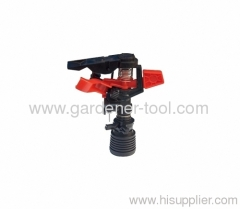 Plastic Female Garden Lawn Water Pulse Sprinkler
