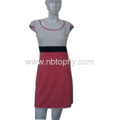 ladies anti wrinkle model dress