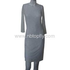 2013 new design lace dress