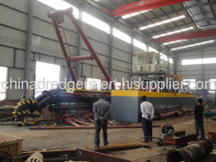 New advance sand cutter suction dredge