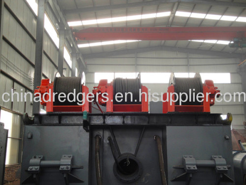 10 inch hydraulic cutter suction dredger