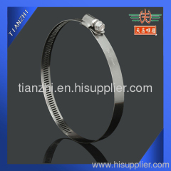 worm drive stainless steel hose clamp