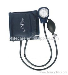 Standard latex bulb with end valve Aneroid Sphygmomanometer