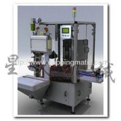 Double Heads Automatic Vacuum Capping Machine